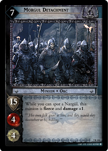 Morgul Detachment (7R191) Card Image