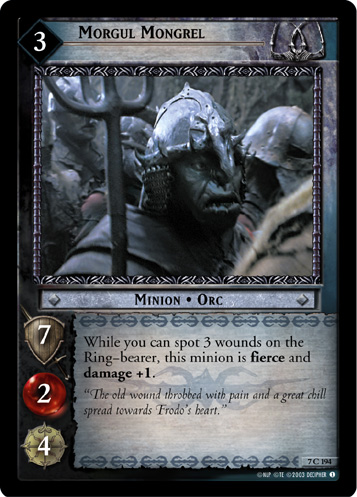 Morgul Mongrel (7C194) Card Image