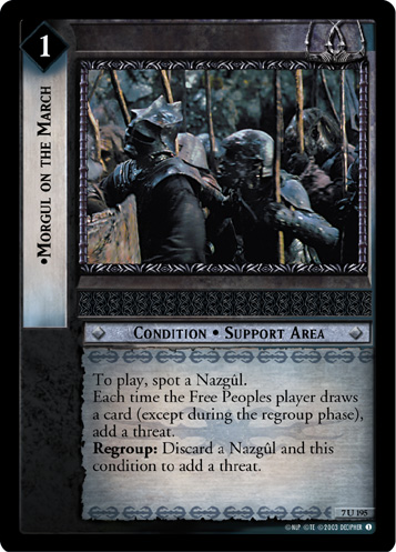Morgul on the March (7U195) Card Image