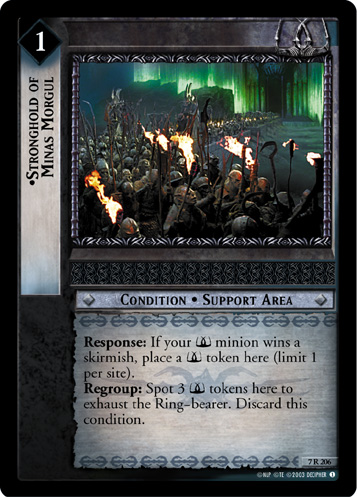Stronghold of Minas Morgul (7R206) Card Image