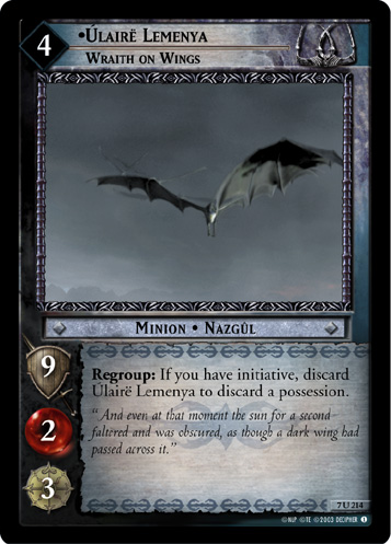 Ulaire Lemenya, Wraith on Wings (7U214) Card Image