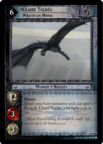 Ulaire Toldea, Wraith on Wings (7R219) Card Image