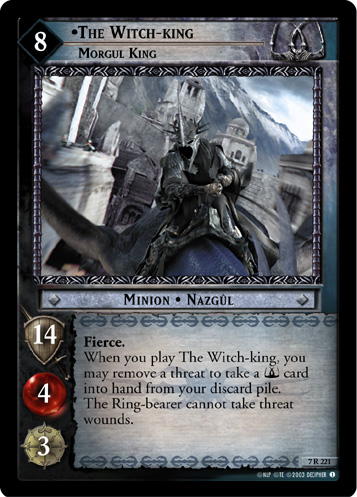 The Witch-king, Morgul King (7R221) Card Image