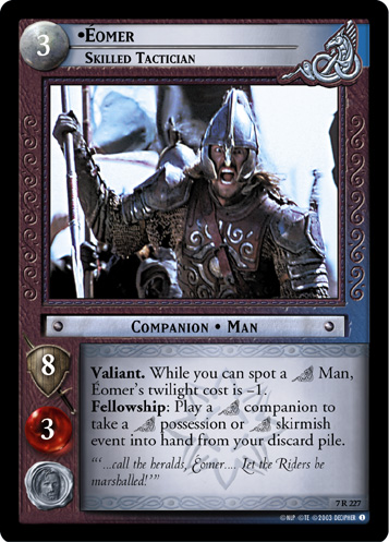Eomer, Skilled Tactician (7R227) Card Image