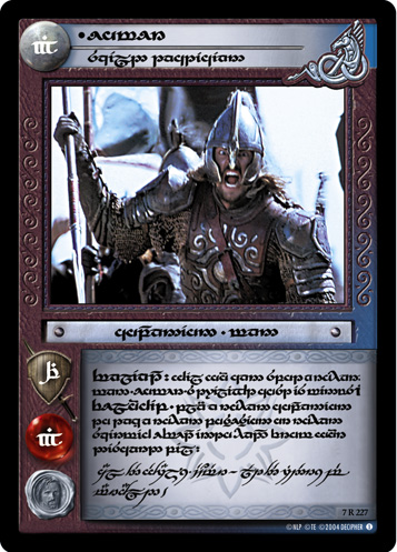 Eomer, Skilled Tactician (T) (7R227T) Card Image