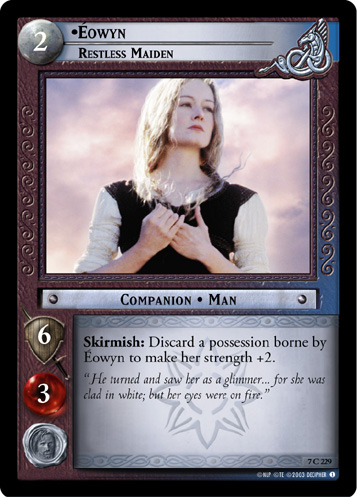 Eowyn, Restless Maiden (7C229) Card Image