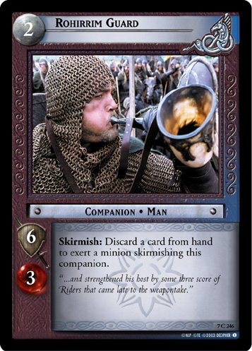 Rohirrim Guard (7C246) Card Image
