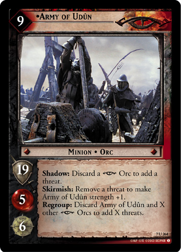 Army of Udun (7U264) Card Image
