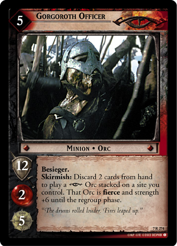 Gorgoroth Officer (7R274) Card Image