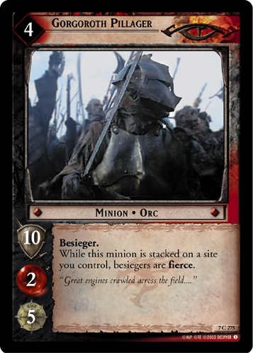 Gorgoroth Pillager (7C275) Card Image
