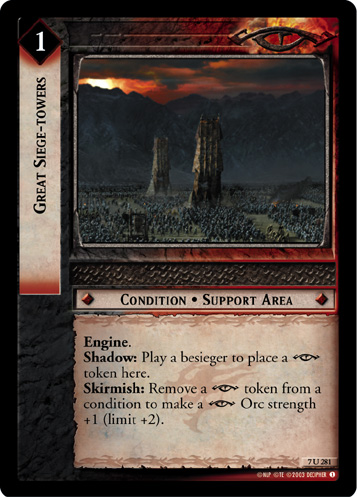 Great Siege-towers (7U281) Card Image