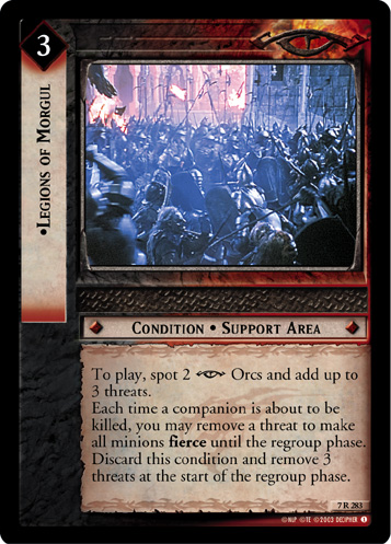 Legions of Morgul (7R283) Card Image
