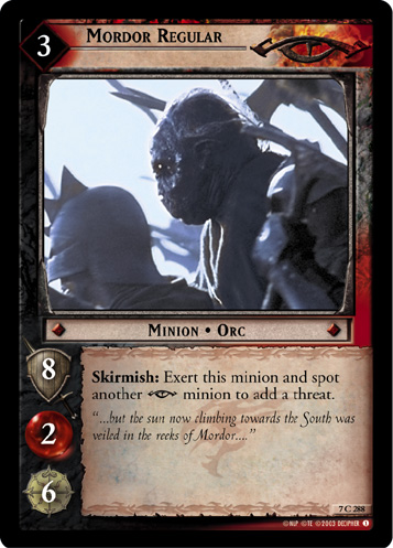 Mordor Regular (7C288) Card Image