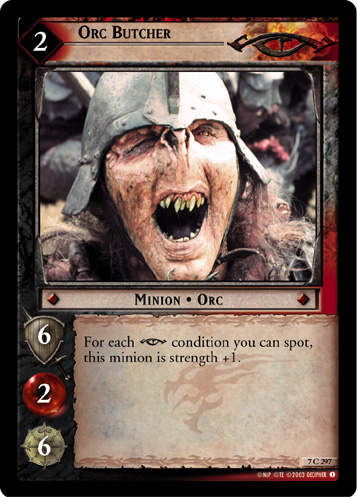 Orc Butcher (7C297) Card Image