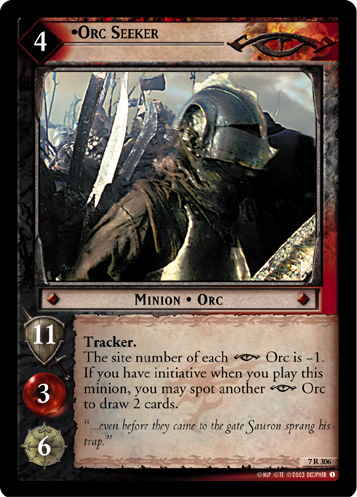 Orc Seeker (7R306) Card Image
