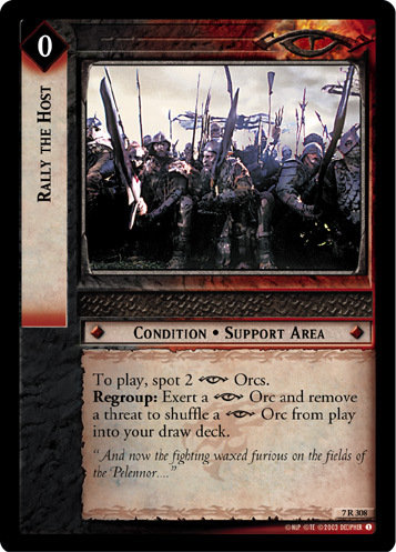 Rally the Host (7R308) Card Image