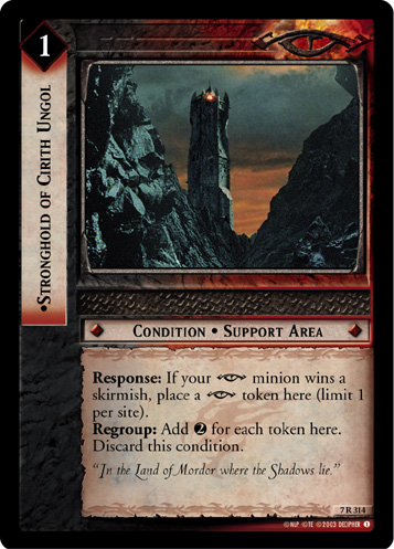 Stronghold of Cirith Ungol (7R314) Card Image