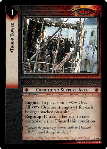 Troop Tower (7R316) Card Image
