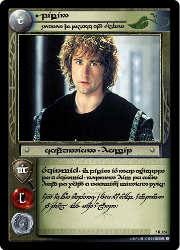Pippin, Wearer of Black and Silver (T) (7R324T) Card Image