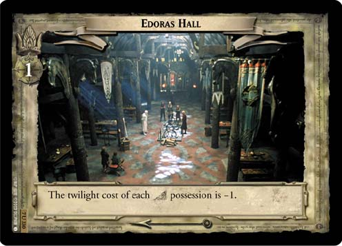 Edoras Hall (7U330) Card Image