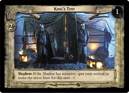 King's Tent (7U335) Card Image