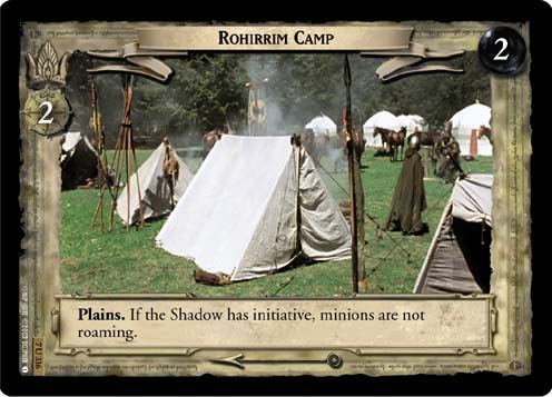 Rohirrim Camp (7U336) Card Image