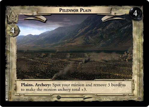 Pelennor Plain (7U343) Card Image