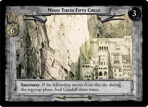 Minas Tirith Fifth Circle (7U346) Card Image