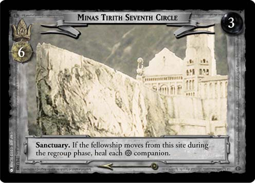 Minas Tirith Seventh Circle (7U350) Card Image