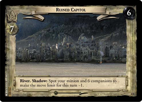 Ruined Capitol (7U355) Card Image