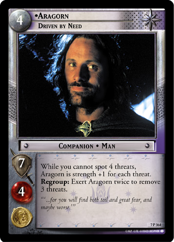 Aragorn, Driven by Need (7P364) Card Image