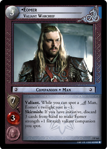 Eomer, Valiant Warchief (7P365) Card Image