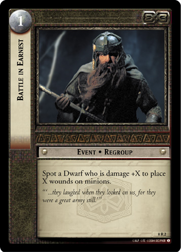 Battle in Earnest (8R2) Card Image