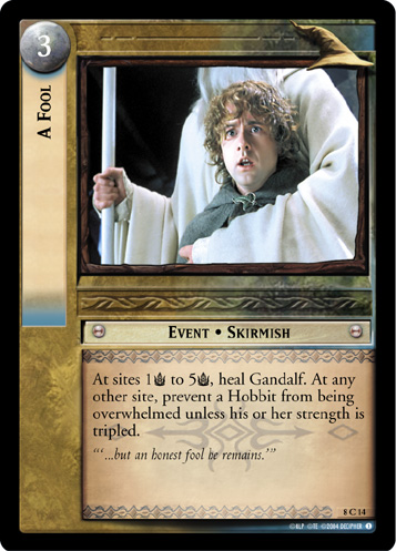 A Fool (8C14) Card Image