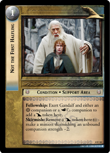 Not the First Halfling (8U18) Card Image