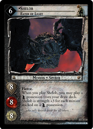 Shelob, Eater of Light (8R25) Card Image
