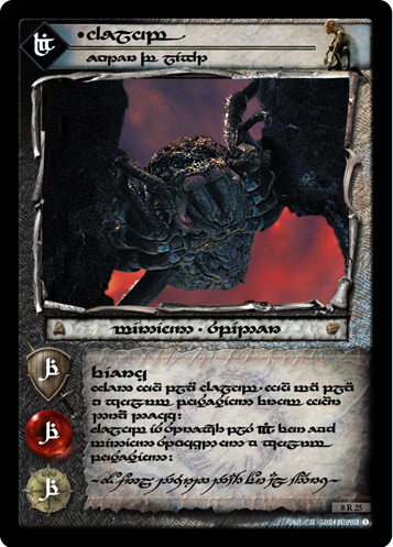 Shelob, Eater of Light (T) (8R25T) Card Image
