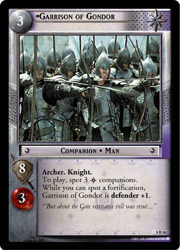 Garrison of Gondor (8R36) Card Image