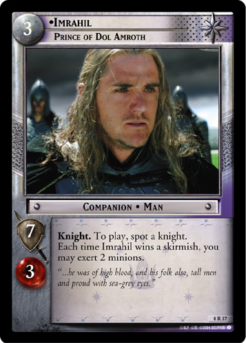 Imrahil, Prince of Dol Amroth (8R37) Card Image