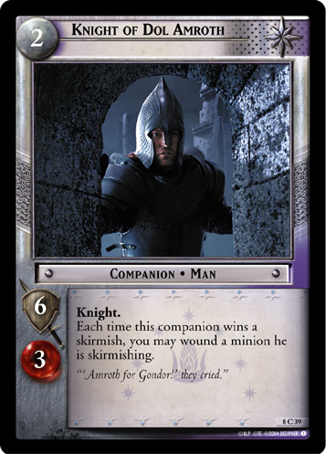 Knight of Dol Amroth (8C39) Card Image
