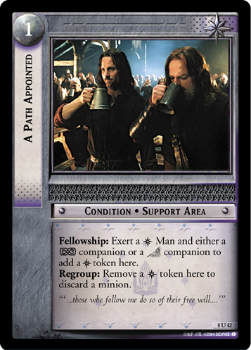 A Path Appointed (8U42) Card Image