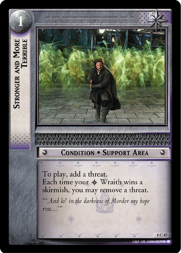 Stronger and More Terrible (8C47) Card Image