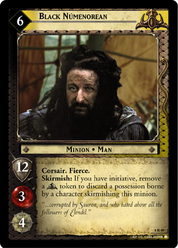 Black Numenorean (8R49) Card Image