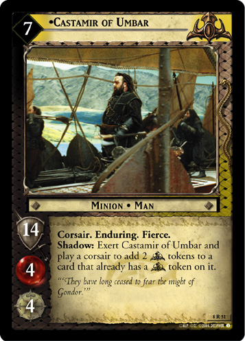 The Lord Of The Rings Trading Cards Gondor Place