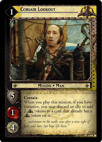 Corsair Lookout (8U56) Card Image