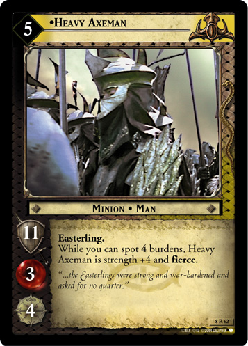 Heavy Axeman (8R62) Card Image
