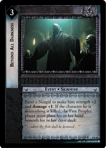 Beyond All Darkness (8R68) Card Image