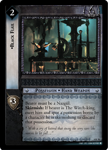 Black Flail (8R70) Card Image