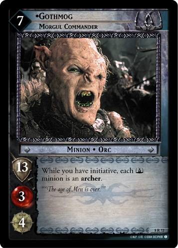 Gothmog, Morgul Commander (8R72) Card Image