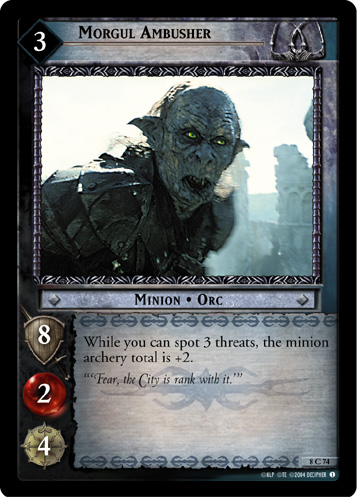 Morgul Ambusher (8C74) Card Image